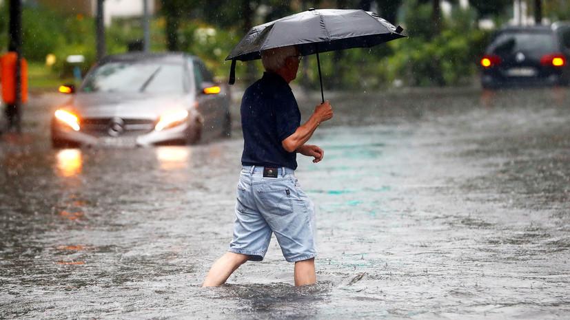 Влажные проблемы: Москву ожидает рекордный ливень