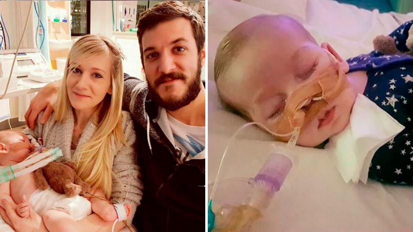 Британские врачи отключат малыша от жизнеобеспечения  вопреки воле родителей