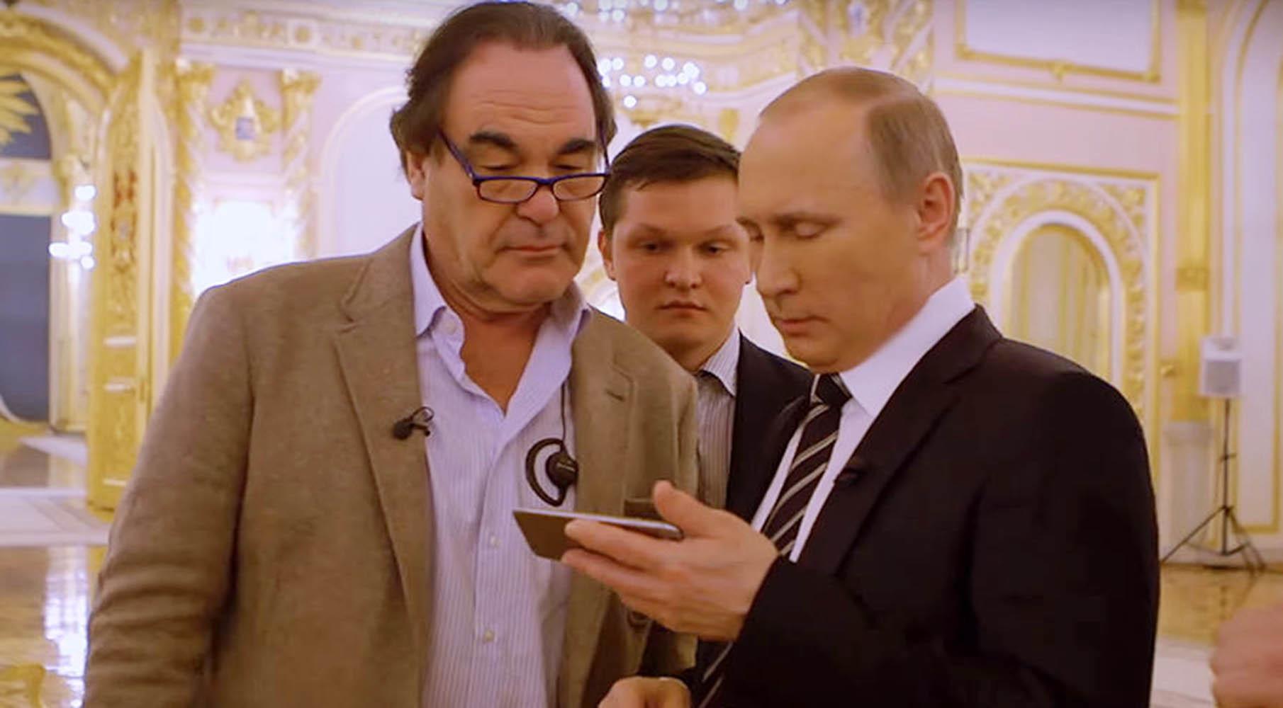 У Путина появилась избирательныя амнезия, он признался, что не помнит, о чем говорил Стоуну