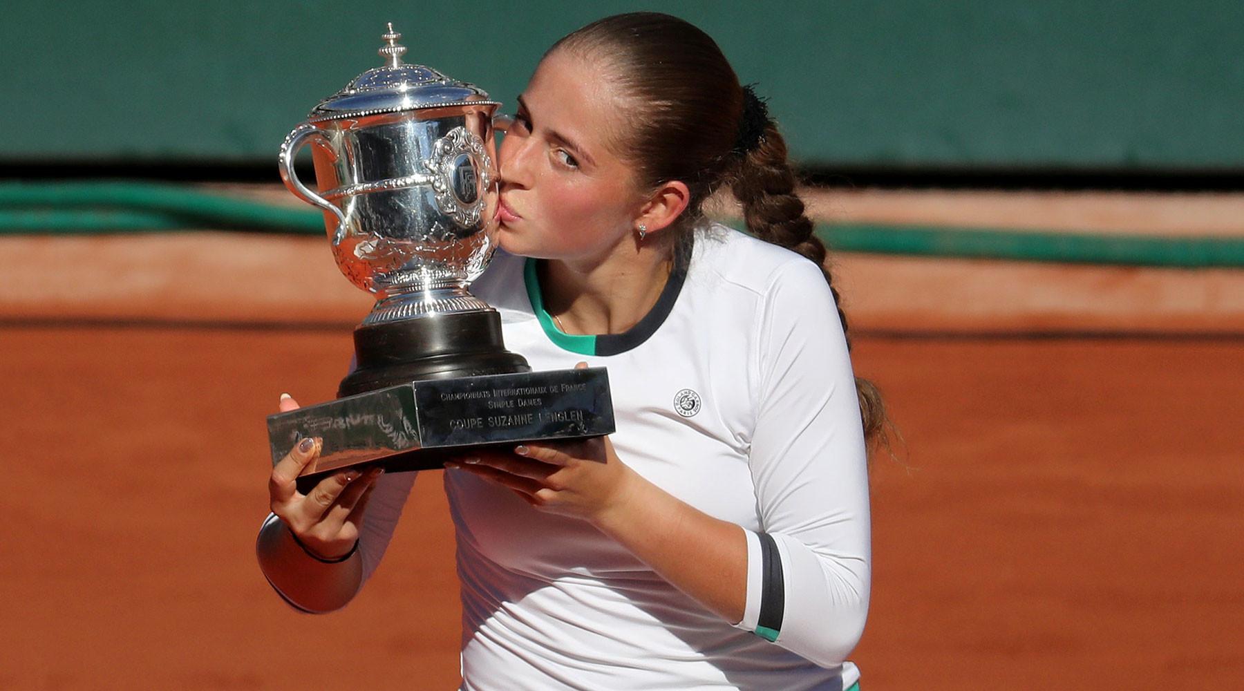 Остапенко выиграла «Ролан Гаррос