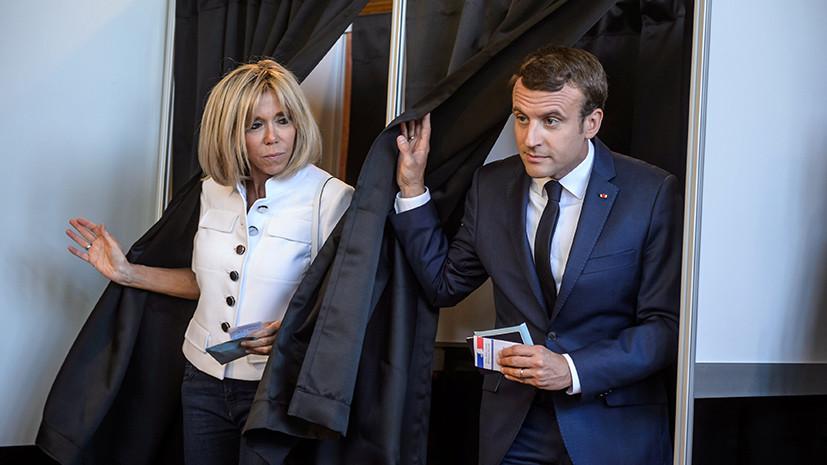 Макрон пошёл «Вперёд»: движение президента Франции побеждает в первом туре парламентских выборов