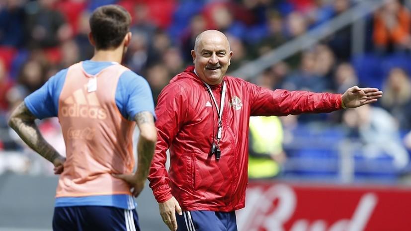 «Нам всё равно, с кем играть, главное — побеждать»: сборная России по футболу провела открытую тренировку