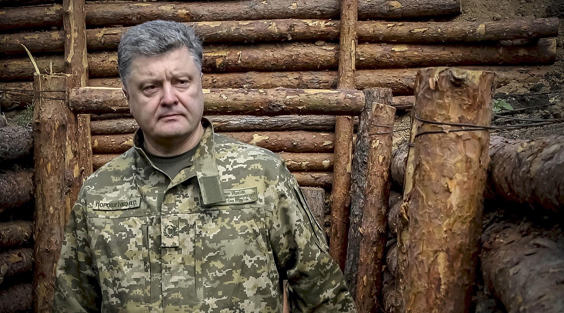 как Порошенко препятствует сворачиванию силовой операции в Донбассе»