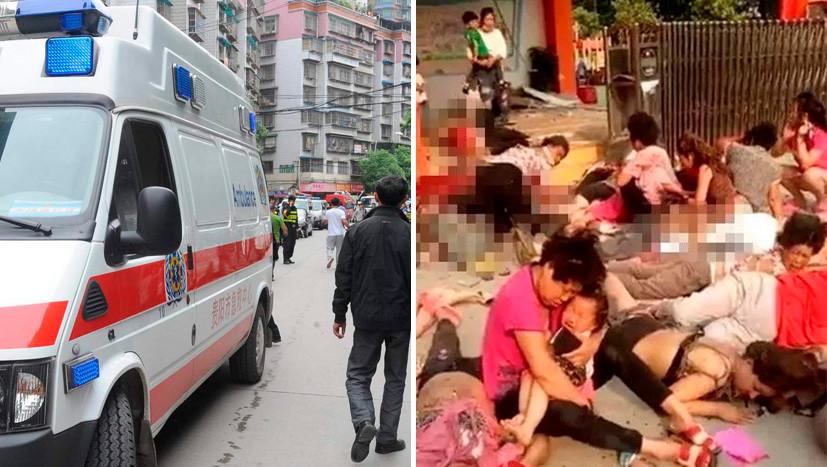 При взрыве у детского сада в Китае погибли семь человек