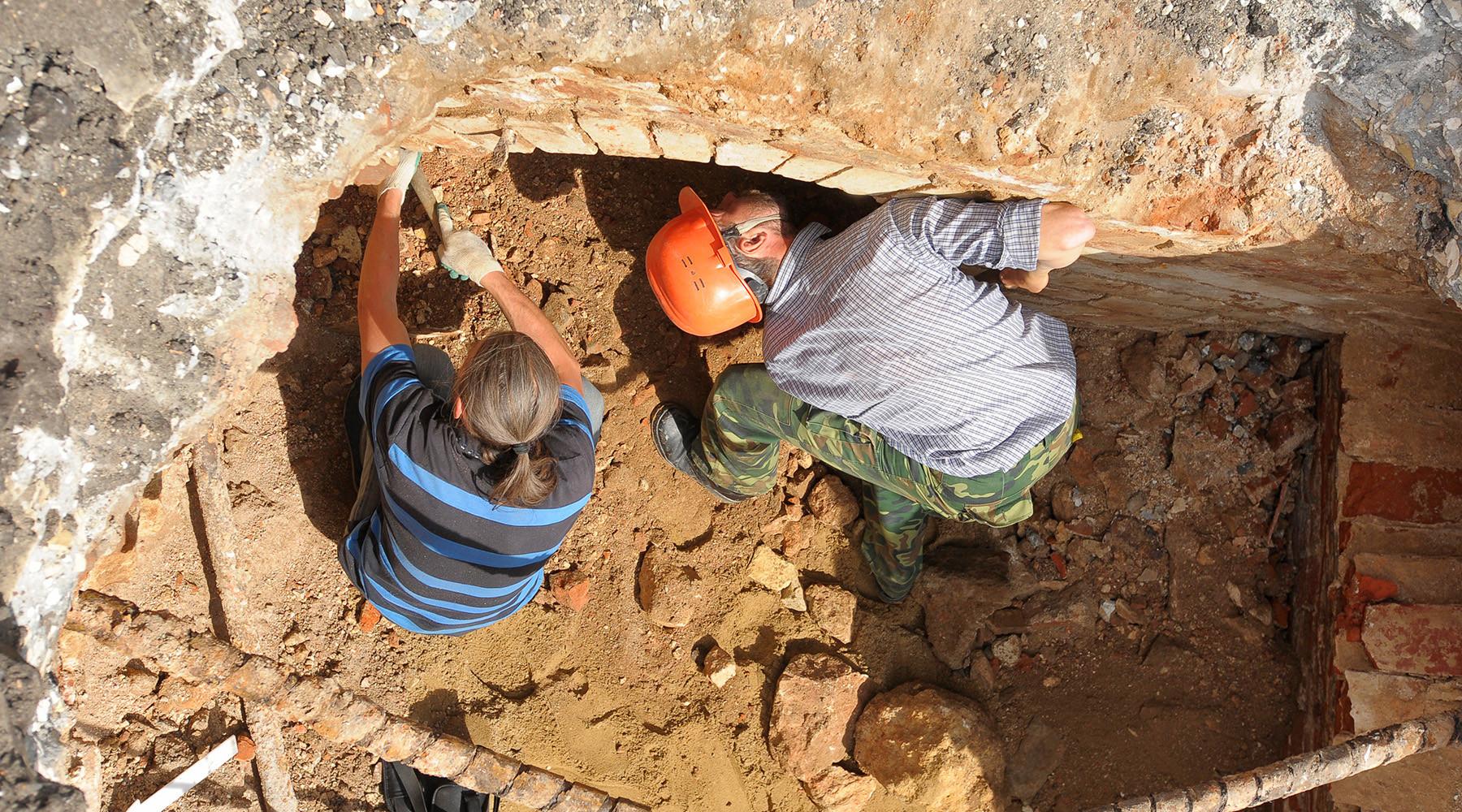 Археологи обнаружили в центре Москвы древний артефакт