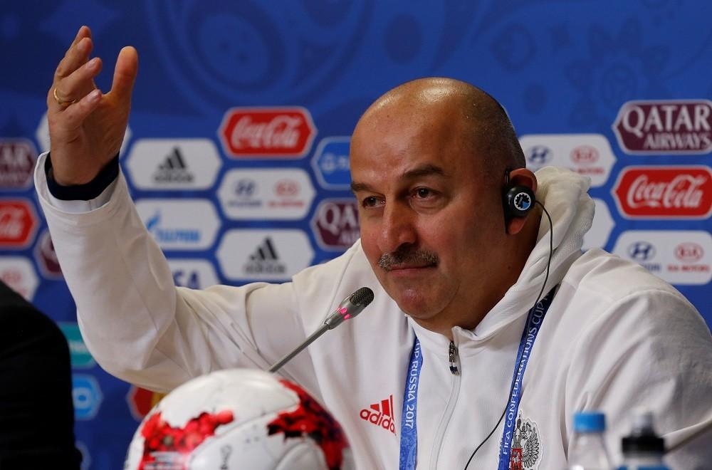 «Путин видит прогресс в нашей игре»: сборная России провела пресс-конференцию перед первым матчем КК