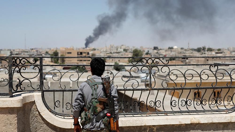 «Откровенная агрессия»: западная коалиция сбила сирийский военный самолёт в районе Ракки