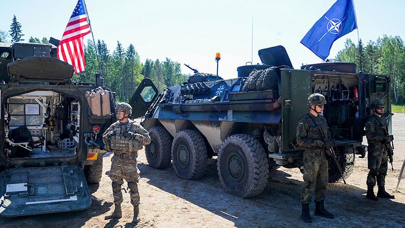 Пространство для манёвров: с какой целью НАТО отрабатывало в Прибалтике блокаду российских территорий
