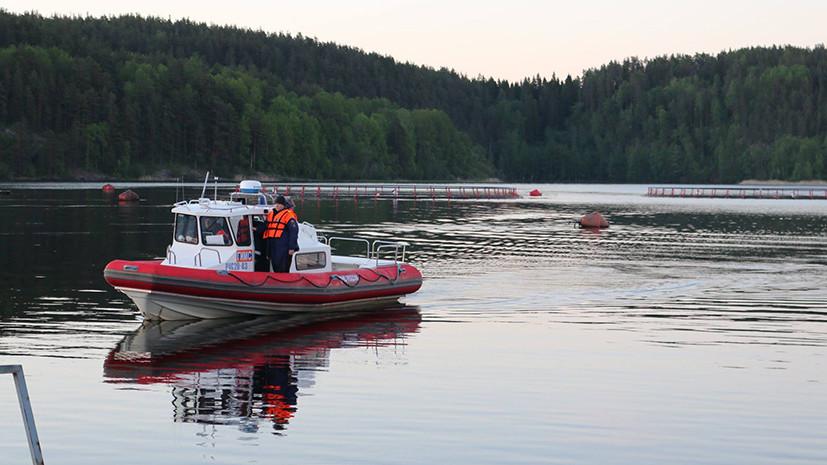 Трагедия на Ладоге: лодка с пятью подростками перевернулась на озере в Карелии