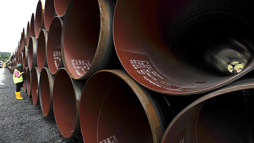 Северный поток-2: руководитель «Нафтогаза» попросил США наказать участников проекта