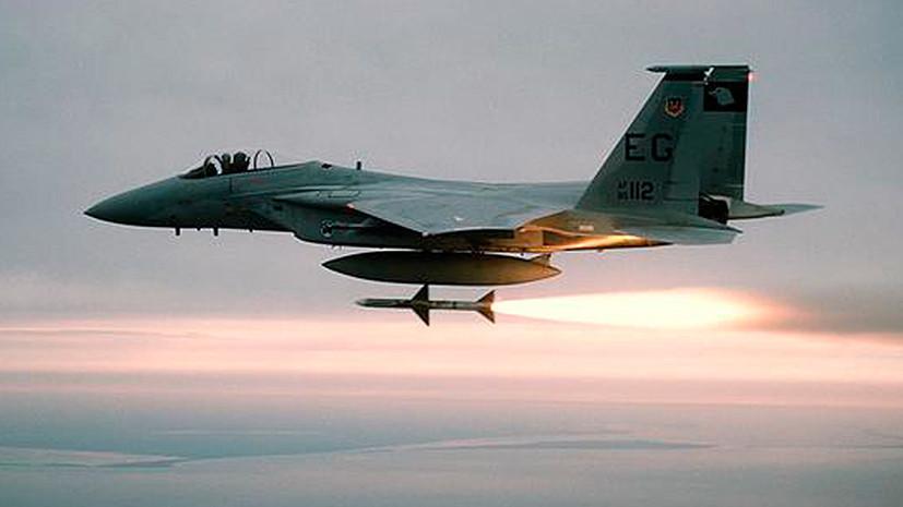 Страсти по Эт-Танфу: самолёт международной коалиции сбил сирийский беспилотник