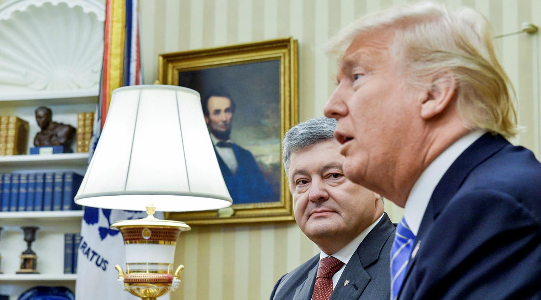 Трампа обвинили в обидном употреблении слова «Украина»»