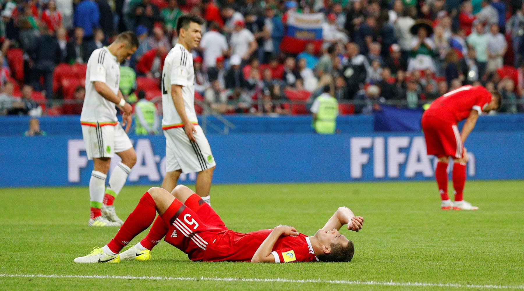 Сборная России по футболу завершила выступление на Кубке конфедераций