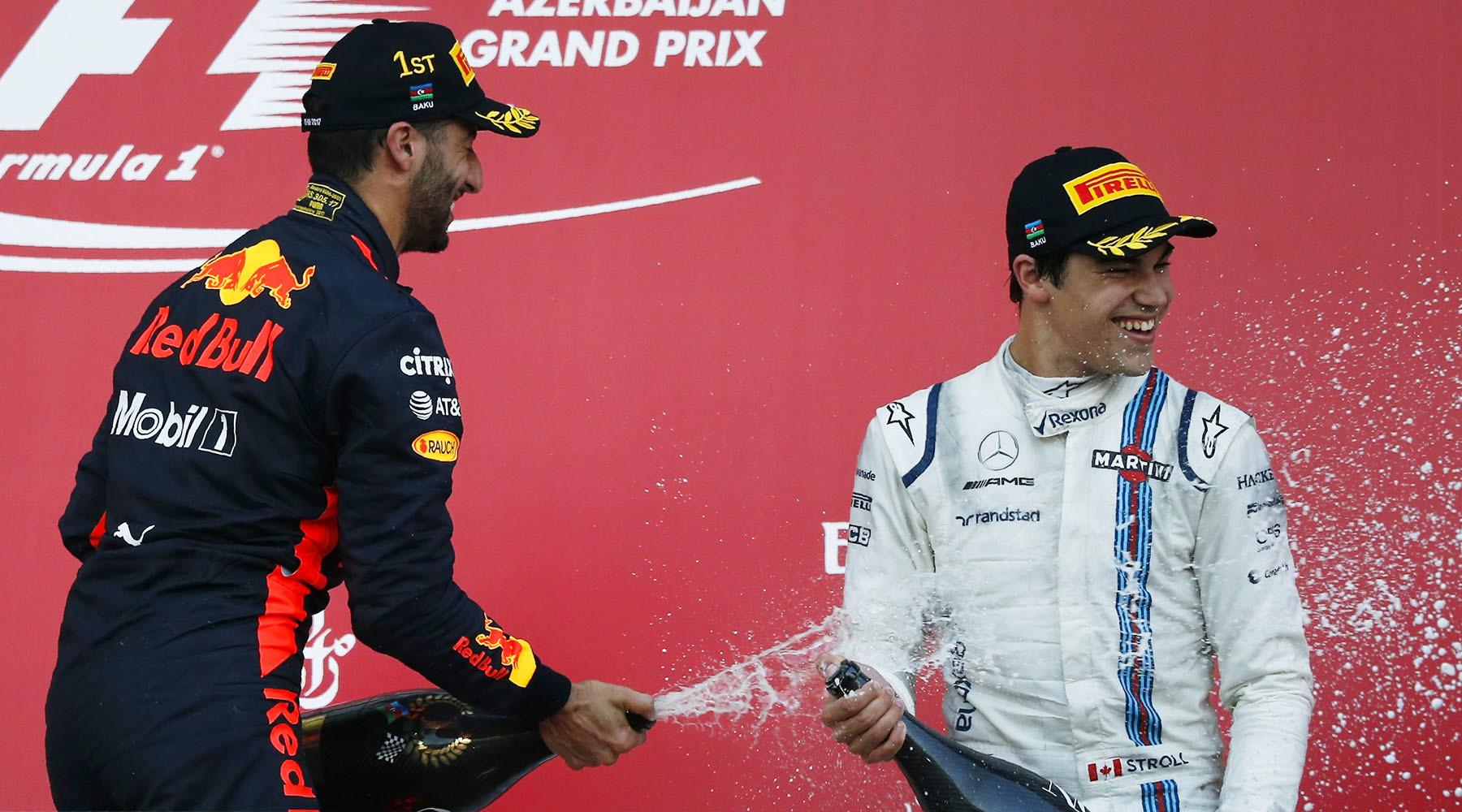 Формула неуспеха в Баку: Феттель и Хэмилтон впервые в сезоне одновременно не попали на подиум, Квят снова сошёл