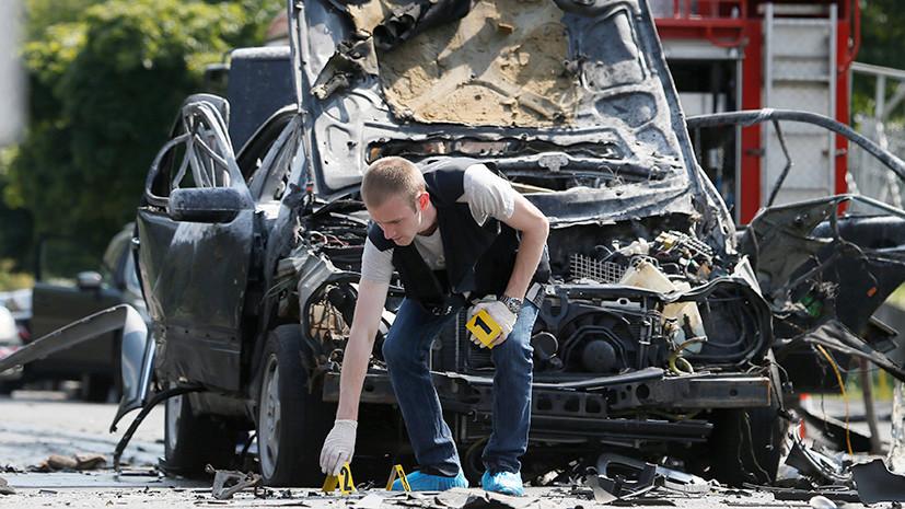 «Взрыв был слышен во всём микрорайоне»: в Киеве полковник украинской разведки погиб в результате подрыва автомобиля
