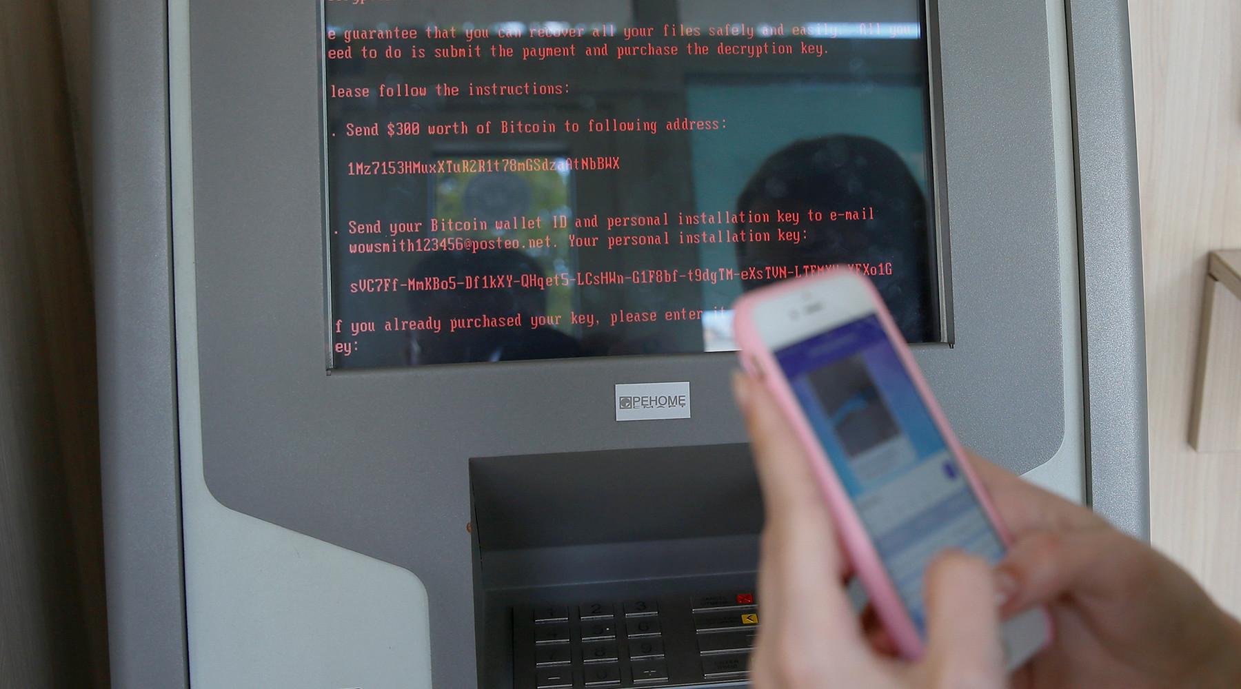 кибератаке подверглись десятки организаций в России и на Украине»