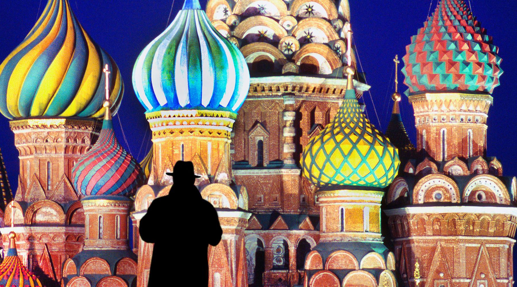 нелегальная разведка России отмечает 95-летний юбилей»