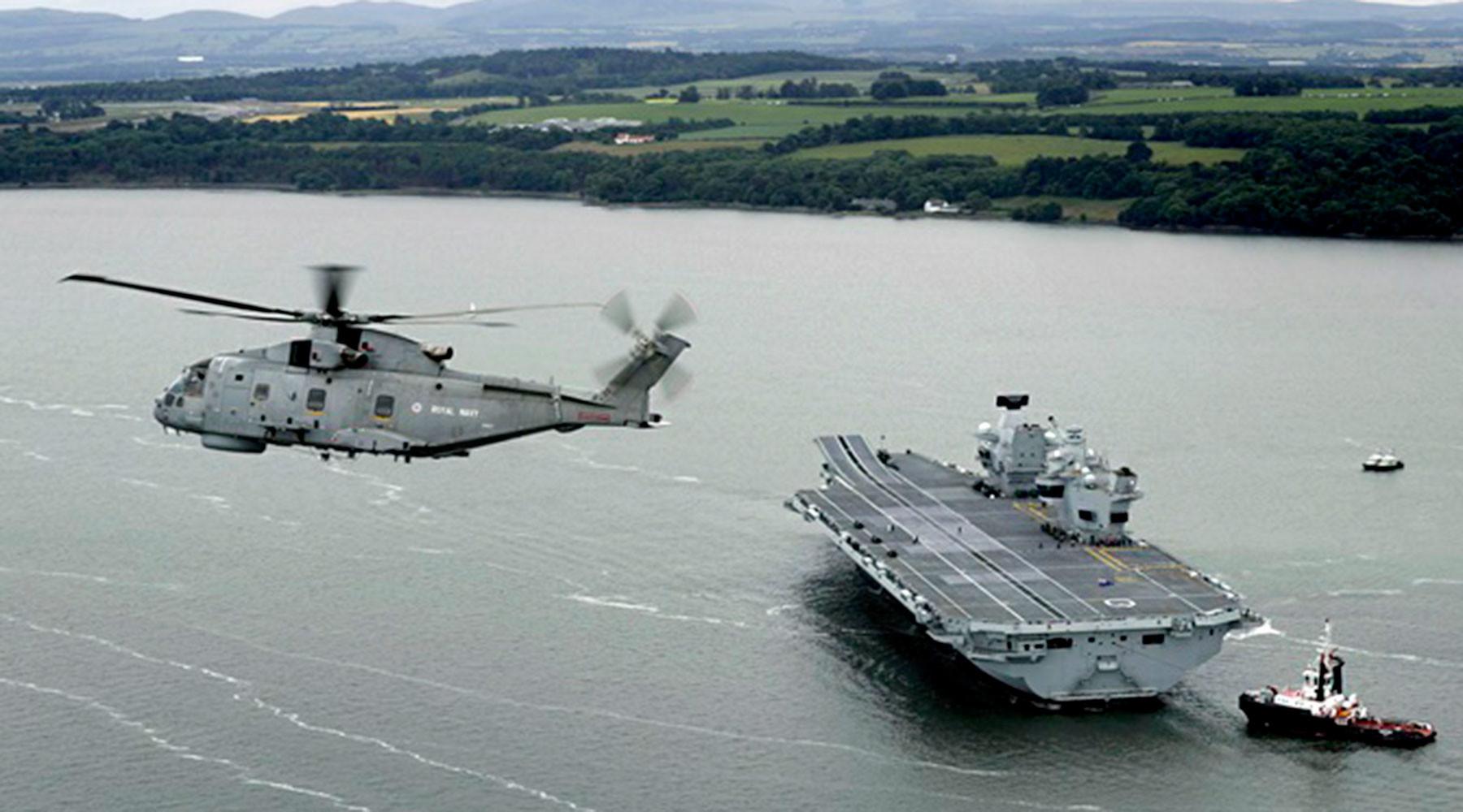 зачем Великобритания «нападает» на российский флот»