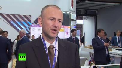 Мельниченко рассказал о перспективах сотрудничества России и Китая в химической промышленности