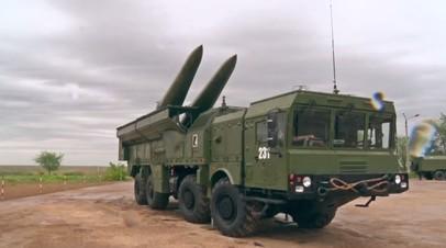 Более десяти установок «Искандер-М» переданы сухопутным войскам РФ