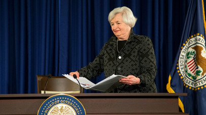 Глава ФРС США Джанет Йеллен