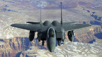 Истребитель четвёртого поколения Макдоннел Дуглас F-15 «Игл»