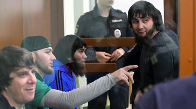 Обвиняемые по делу об убийстве Бориса Немцова в суде