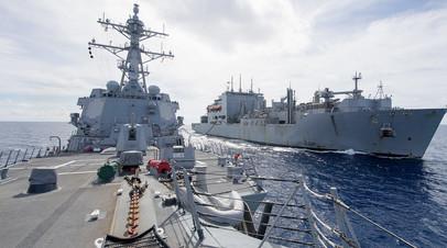 ВМФ США в Южно-Китайском море