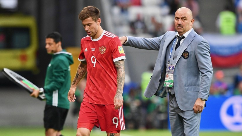 Непомнящий об игре сборной России на Кубке конфедераций