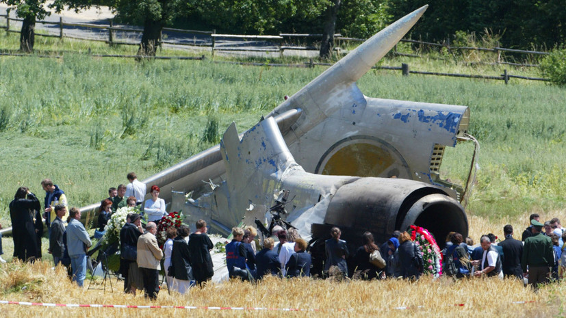 Боденская трагедия: 15 лет назад авиакатастрофа над озером в предгорье Альп унесла жизни 71 человека