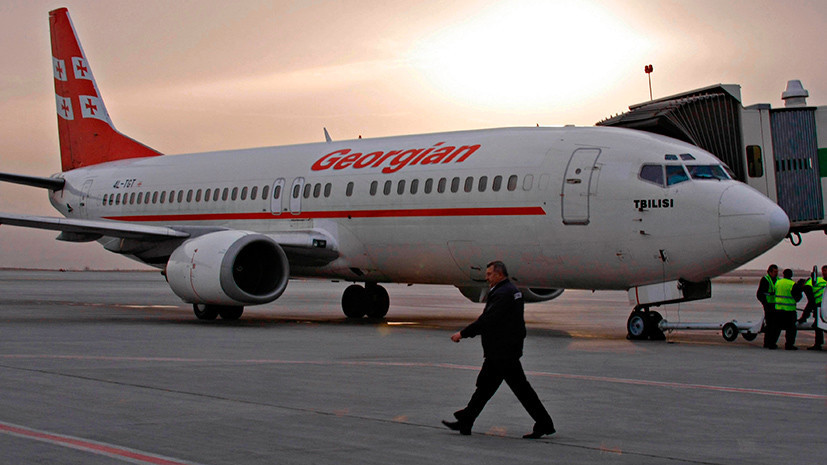 Полёт окончен: в чём причина конфликта между Минтрансом России и «Грузинскими авиалиниями»