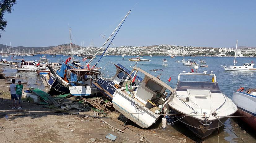 «Треснули здания, и поднялось море»: российские туристы рассказали о землетрясении в Турции и Греции