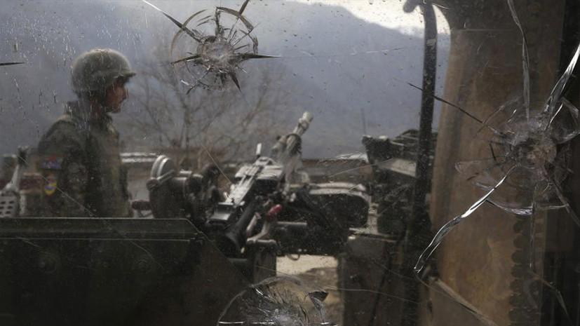 В НАТО сообщили о гибели афганских военных в результате ошибочного удара США