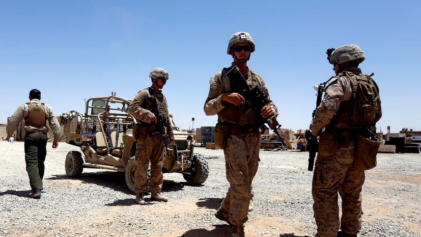 В Афганистане при ошибочном авиаударе США погибли 12 сотрудников полиции