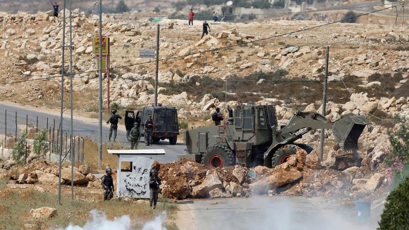 Израиль сообщил о ракетном обстреле из сектора Газа»