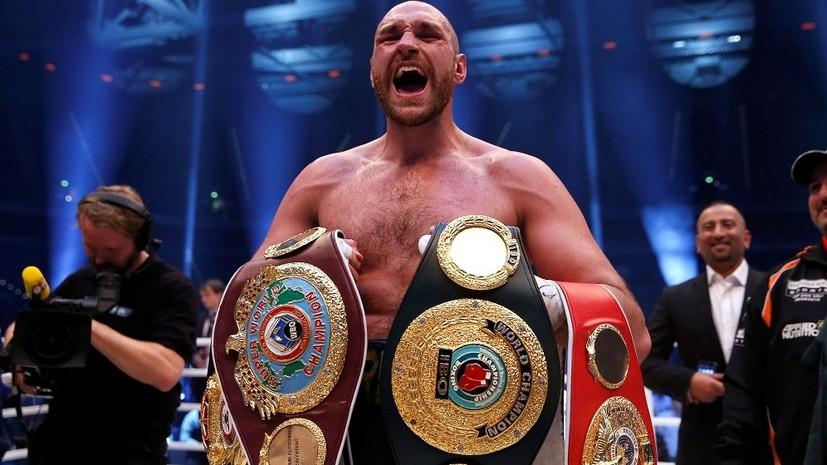 Закат Цыганского Барона: скандально известный и непобедимый боксёр Фьюри вновь объявил о завершении карьеры