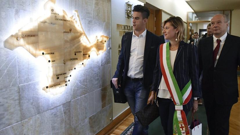 «Рим должен это исправить»: украинский посол возмутился заявлением итальянского дипломата о Крыме