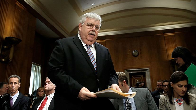 посол США Теффт «разочарован» ответными санкциями Москвы»