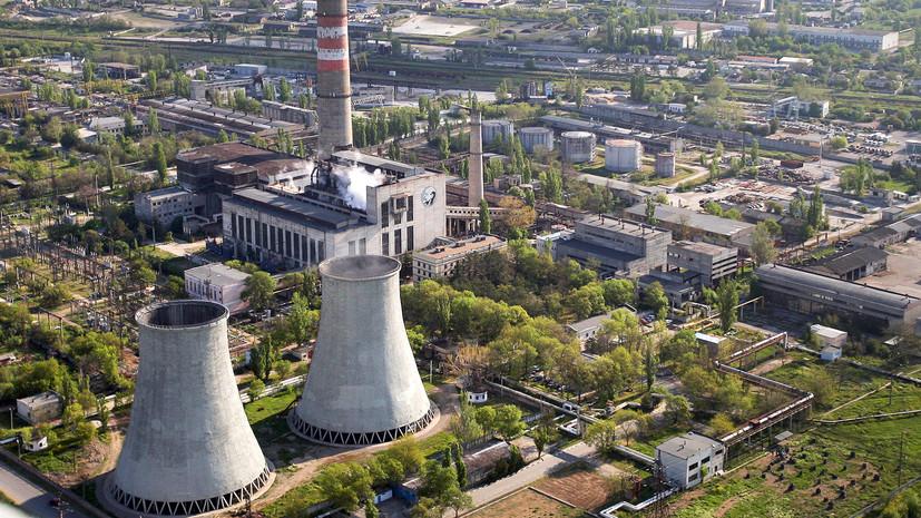 в Крыму восстановили электроснабжение после аварии в Краснодарском крае»