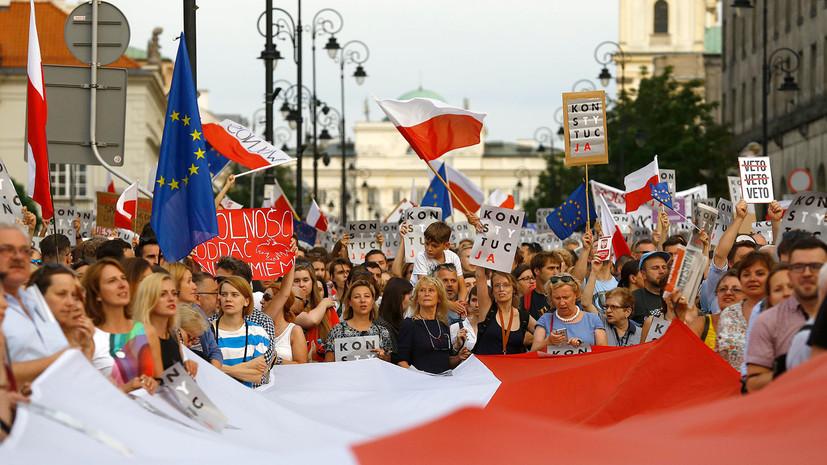 Варшавский приговор: Польша ответила на запуск санкций со стороны ЕС