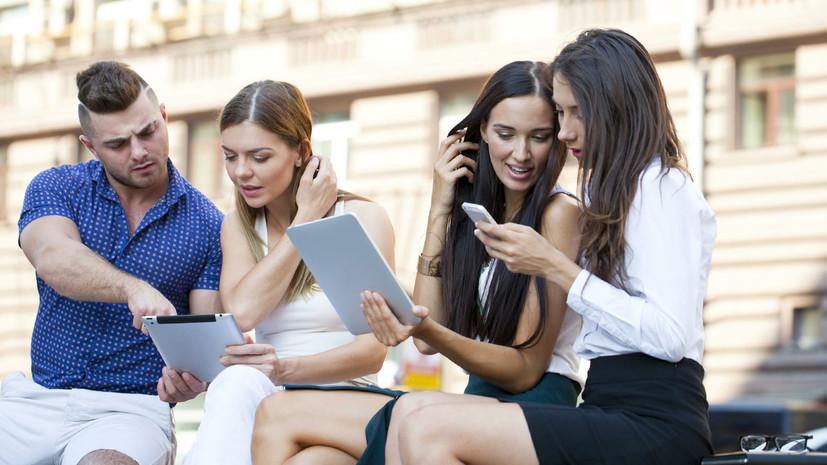 более 50% опрошенных интернет-пользователей находятся online почти круглые сутки»
