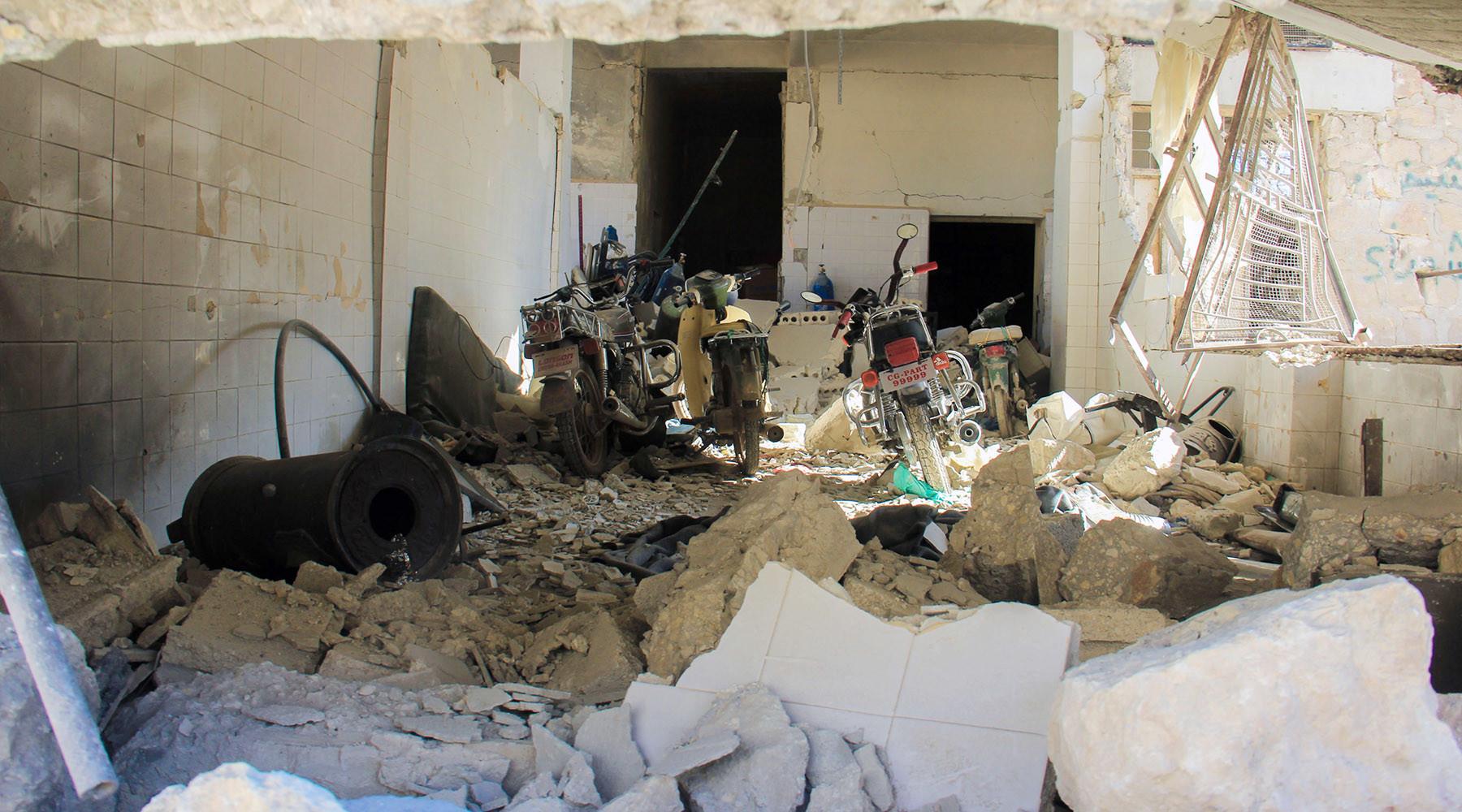 Захарова сообщила о начале медийной кампании перед инсценировкой применения химоружия в Сирии
