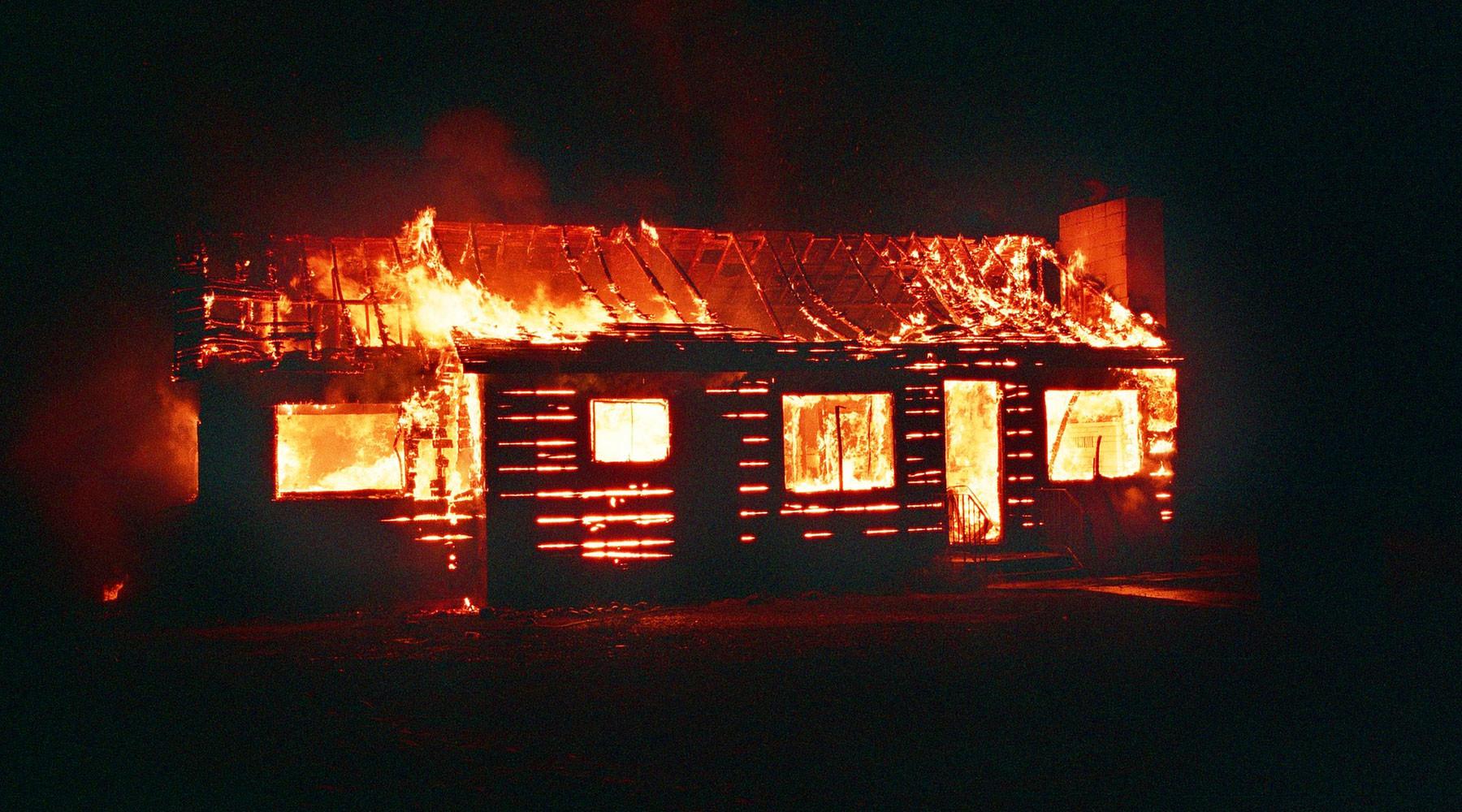МВД проверяет информацию о поджоге дома «ведьмы»»