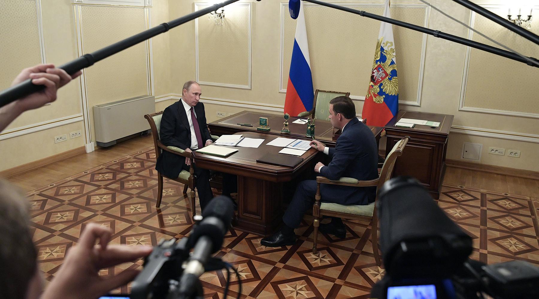 Путин отреагировал на жалобы о невыплате зарплат в Нижнем Тагиле