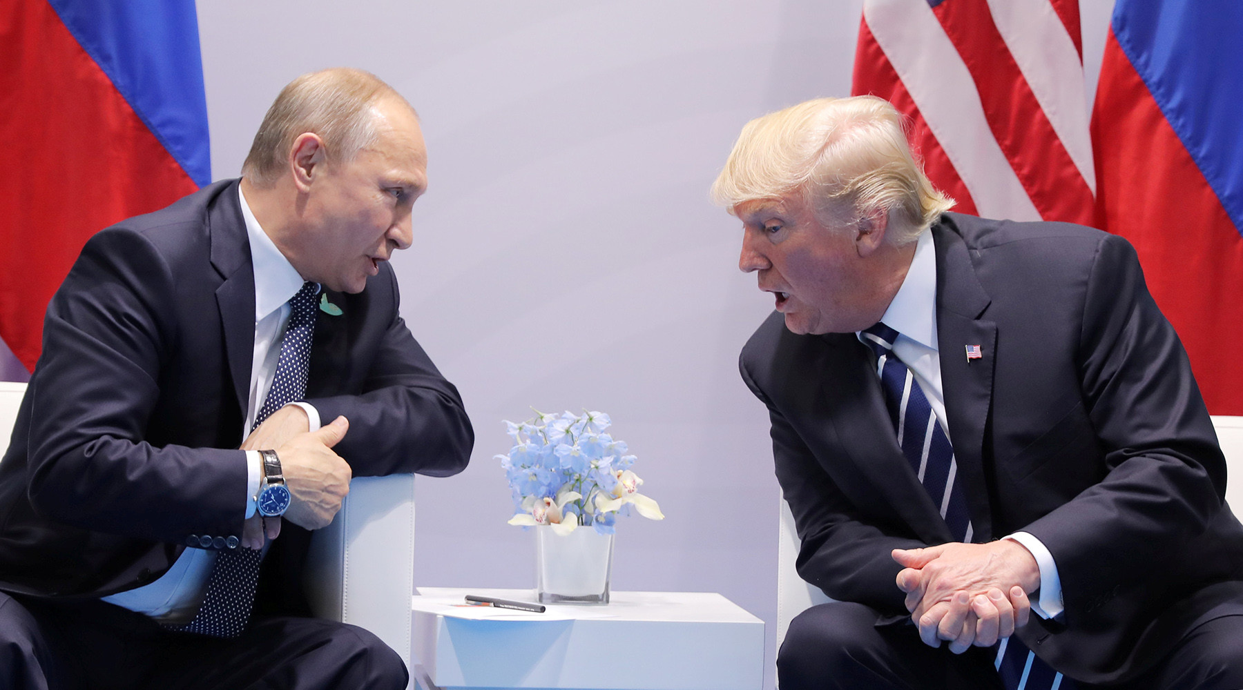 Как Трамп оправдывается перед американцами за встречу с Путиным