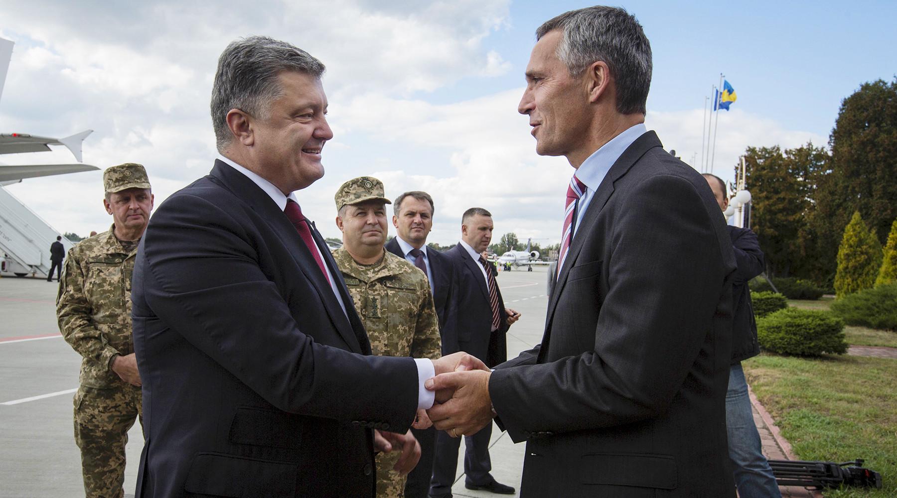 Зачем Украина заговорила о заявке в НАТО
