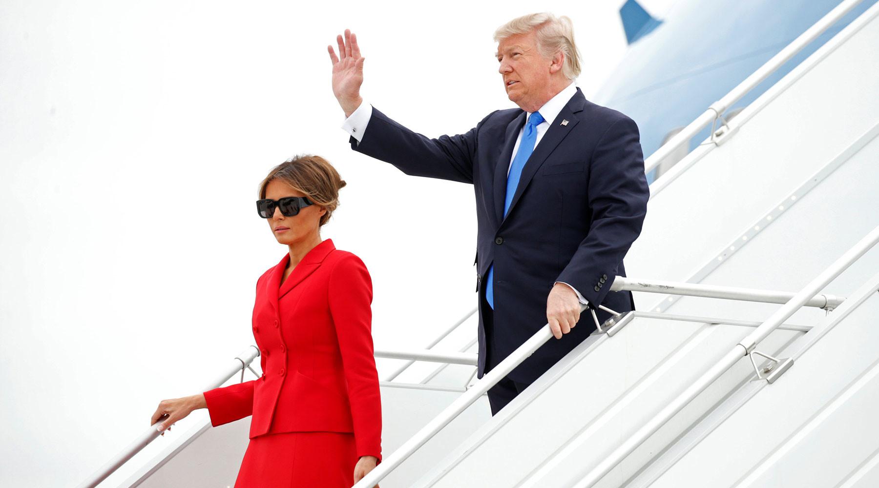 Что стоит за визитом Дональда Трампа во Францию?»