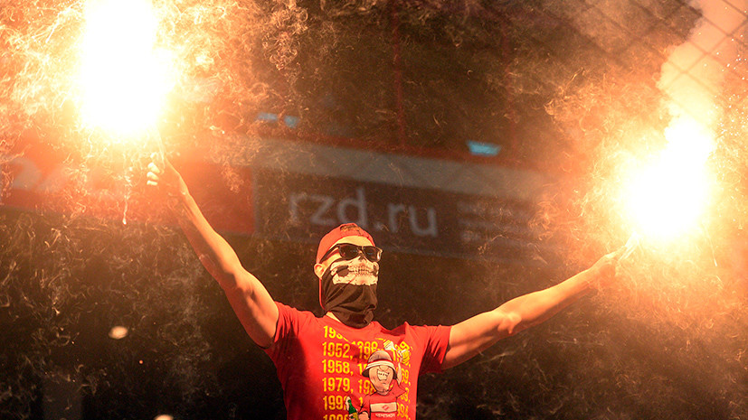 Провокационный баннер, обструкция Глушакову и футбол до полуночи: чем запомнится матч за Суперкубок России