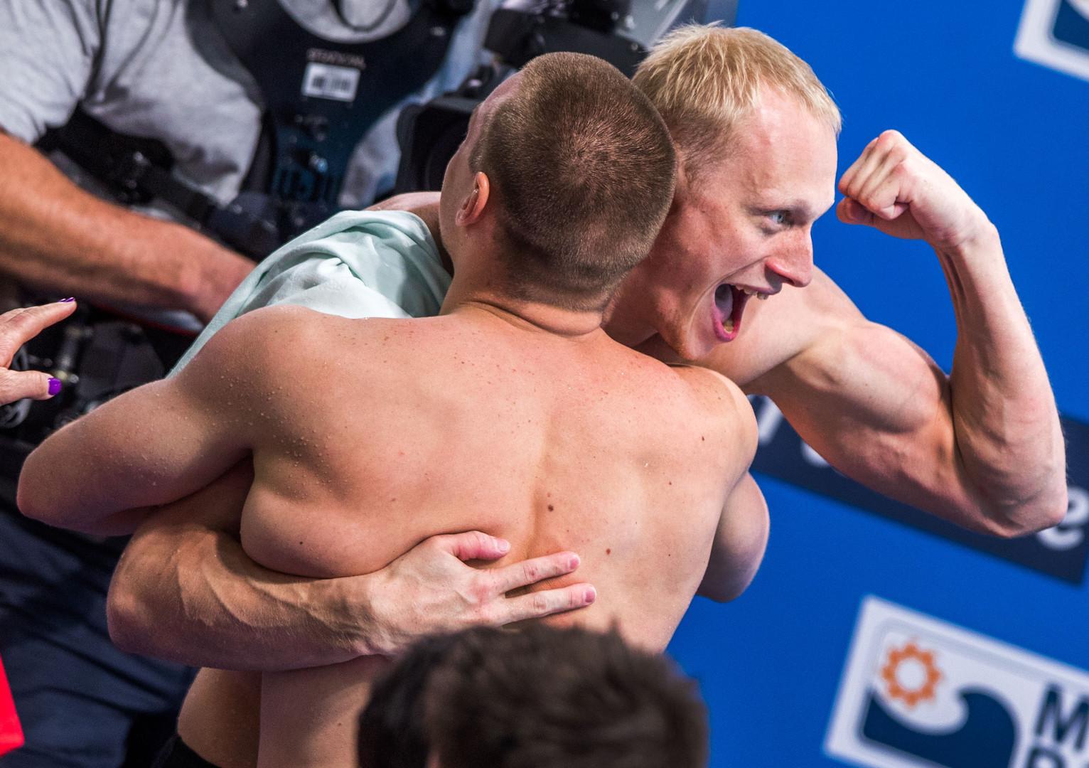 РФ завоевала первое золото наЧМ-2017 поводным видам спорта