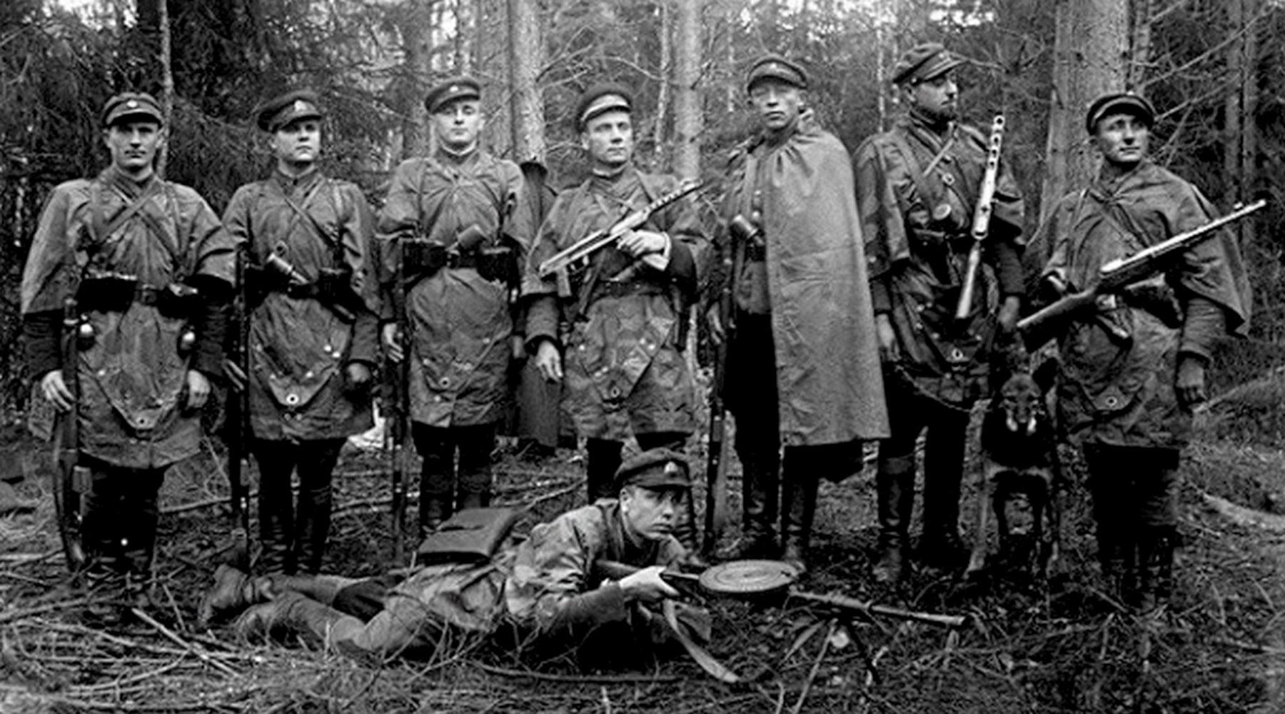 кем были литовские антисоветские партизаны»